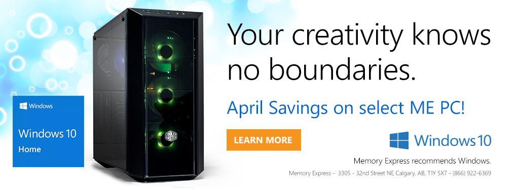 Windows 10 Home: Your creativity knows no boundaries (Apr 12 - 25)