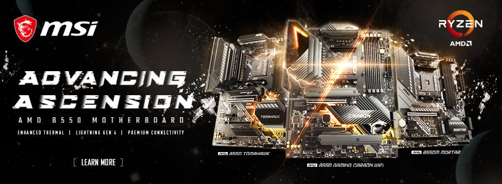 Msi B550 Motherboard 2nd Wave Promo