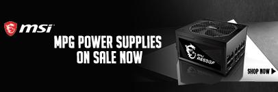 MSI MPG Power Supplies on Sale Now ( Feb 19 - 25, 2021)