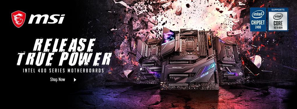 Unleash True Power - Intel 400 Series Motherboards