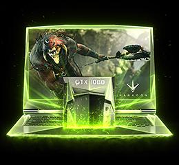 GeForce GTX 10-Series Notebooks