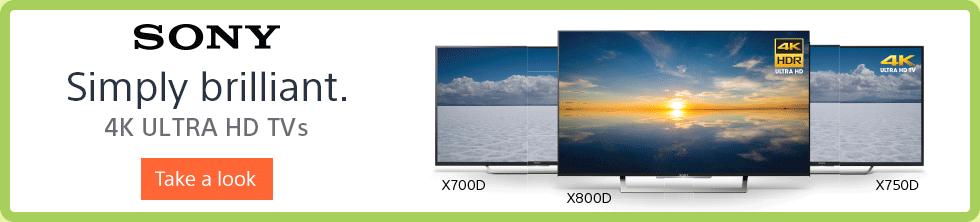 Sony 4K Ultra HD TVs
