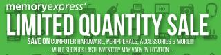 Memory Express Limited Quantity Sale (Nov 4 - Dec 1)