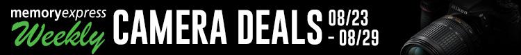 Memory Express Weekly Camera Deals (Aug 23-29)