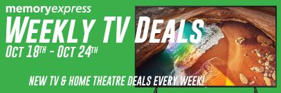 Memory Express Weekly TV Deals (Oct 18 - 24)