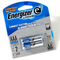 MX11257 e2 Lithium AAA Batteries, 2pk
