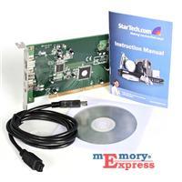 MX15863 3-Port IEEE-1394B FireWire 800 PCI Card w/ Digital Video Editing Kit