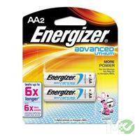 MX26365: AA Advanced Lithium Batteries, 2 Pack