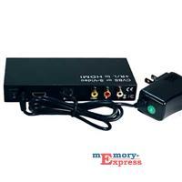 MX32089 CVBS/ S-Video + R/L to HDMI Converter
