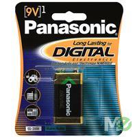 MX40938: Digital Alkaline 9V Battery, 1 pack