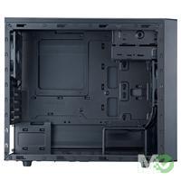 MX46305 N200 Micro ATX Case, Black