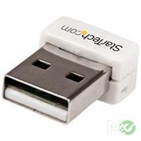 MX50600 150Mbps Mini Wireless N USB Network Adapter, White