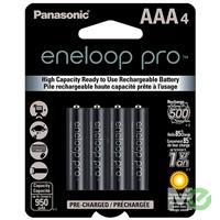 MX53289 Eneloop Pro Low-Discharge Rechargeable NiMH Batteries, 4x AAA Pack