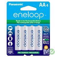 MX53290: Eneloop Low-Discharge Rechargeable NiMH Batteries, 4 x AA Pack