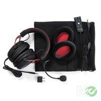 MX55713 Cloud II Headset, Black & Red