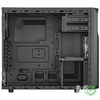 MX55938 Carbide Series SPEC-02 Mid Tower Case w/ Front Red LED Fan, Side Window