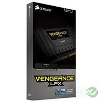 MX57069 Vengeance LPX 8GB DDR4 2400MHz CL14 Dual Channel Kit (2 x 4GB), Black