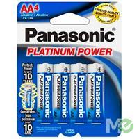 MX59333: AA Platinum Power Alkaline Batteries, 4 Pack