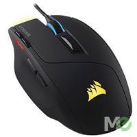 MX60966 Sabre RGB Laser Optical RGB Gaming Mouse, 10,000 dpi
