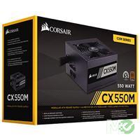 MX61040 CX Series CX550M Semi-Modular Power Supply, 550W