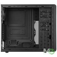 MX61515 N300 Mid Tower ATX Case, Midnight Black