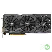 MX62814 ROG STRIX GTX1070 OC GAMING GeForce GTX 1070 8GB PCI-E w/ Dual HDMI, Dual DP, DVI