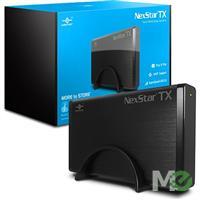 MX64165 NexStar TX Series 3.5in External Storage Enclosure, USB 3.0, Black