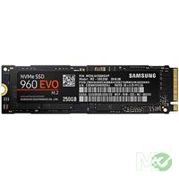 MX64407 960 EVO NVMe M.2 PCIe x4 SSD, 250GB