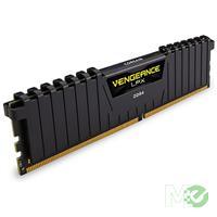 MX64511 Vengeance LPX 4GB DDR4 2400MHz CL14 RAM (1x 4GB), Black