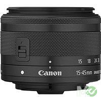 MX65596 EOS M6 Digital Camera Kit w/ EF-M 15-45mm f3.5-6.3 IS STM Lens, Black