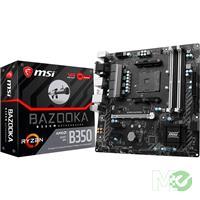 MX65981 B350M BAZOOKA w/ DDR4-2400, 7.1 Audio, M.2, Gigabit LAN, PCI-E x16