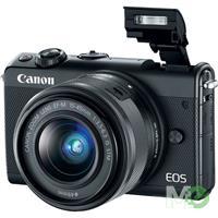MX68410 EOS M100 Digital Camera Kit, Black w/ EF-M 15-45mm IS STM Lens, Black
