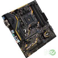 MX68519 TUF B350M-PLUS GAMING w/ DDR4 2666, 7.1 Audio, M.2, Gigabit LAN, CrossFireX