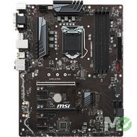 MX68590 Z370-A PRO ATX w/ DDR4-2666, 7.1 Audio, M.2, Gigabit LAN, DisplayPort, CrossFire