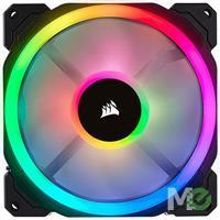 MX68781 LL120 RGB LED Fan Cooling Kit w/ 3x 120mm Dual Light Loop RGB LED PWM Fans w/ Lighting Node PRO