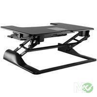 MX69769 ICA-LCD 300 Sit Stand Desktop Workstation, Black