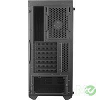 MX70184 MasterBox MB600L ATX Case w/ ODD Support, Acrylic Side Panel, Black / Red
