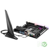 MX71508 ROG STRIX X470-I Gaming w/ DDR4 2666, 7.1 Audio, Dual M.2, Gigabit LAN, 802.11 ac, Bluetooth v4.2