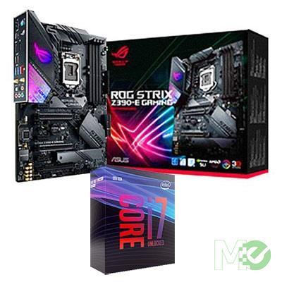 BDL_MM00001375 Core™ i7-9700K Processor Bundle w/ASUS ROG Strix Z390-E Gaming Motherboard