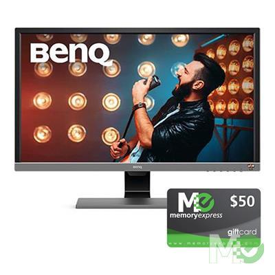 BDL_MM00001694 EL2870U 28in 4K Monitor  bundle w/ Memory Express $50 Gift Card