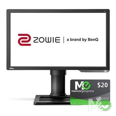BDL_MM00001699 XL2411P 24in Full HD 144Hz Gaming Monitor bundle w/ Memory Express $20 Gift Card