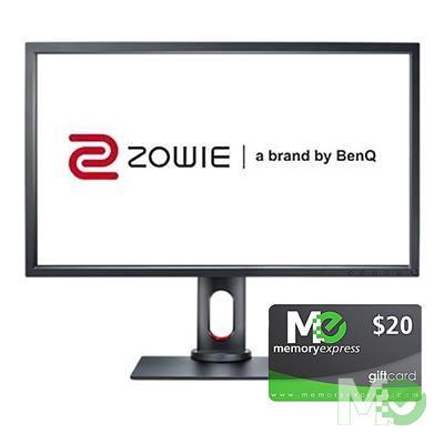 BDL_MM00001700 XL2731 27in Full HD 144Hz Gaming Monitor bundle w/ Memory Express $20 Gift Card