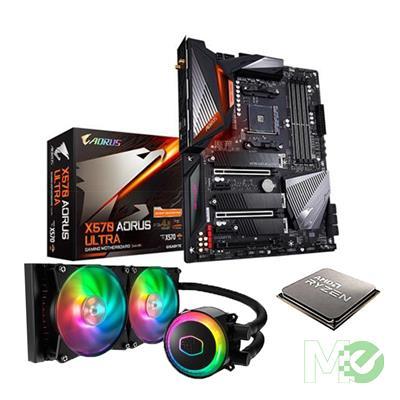 BDL_MM00001759 Ryzen™ 7 5800X Processor Bundle w/ Gigabyte X570 AORUS ULTRA Motherboard and Cooler Master ML240R RGB Liquid CPU Cooler
