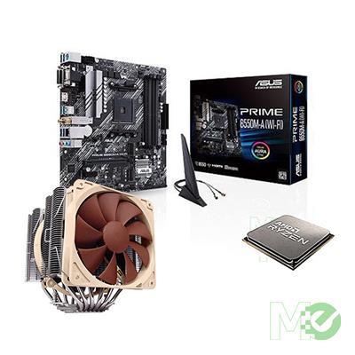 BDL_MM00001846 Ryzen™ 7 5800X Processor Bundle w/ Asus PRIME B550M-A (Wi-Fi) Motherboard and Noctua NH-D15 CPU Cooler