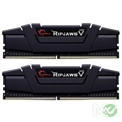MX00112304 Ripjaws V Series 64GB DDR4 3200MHz CL16 Dual Channel Kit (2 x 32GB), Black