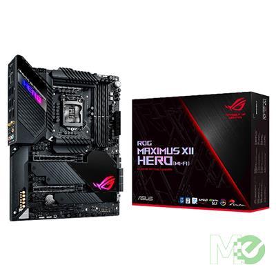 MX00112310 ROG MAXIMUS XII HERO WI-FI w/ DDR4-2933, 7.1 Audio, Triple M.2, 5GB + 1Gb LAN, 802.11ax, Bt v5.1, 3-Way CrossFireX / 2-Way SLI