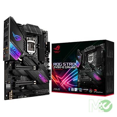 MX00112311 ROG STRIX Z490-E GAMING w/ DDR4-2666, 7.1 Audio, Dual M.2, 2.5Gb LAN, 802.11ax, Bluetooth 5.1, CrossFire / SLI