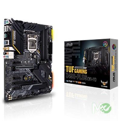MX00112314 TUF GAMING Z490-PLUS (WI-FI) w/ DDR4-2666, 7.1 Audio, Dual M.2, Gigabit LAN, CrossFire