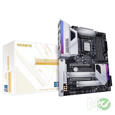 MX00112376 Z490 VISION G w/ DDR4-2933, 7.1 Audio, Dual M.2, 2.5Gb LAN, 2-Way CrossFireX / SLI