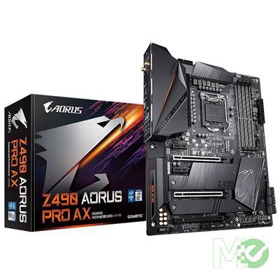 MX00112380 Z490 AORUS PRO AX w/ DDR4-2933, 7.1 Audio, Dual M.2, 2.5G LAN, 802.11ax, Bluetooth 5.0, CrossFire / SLI